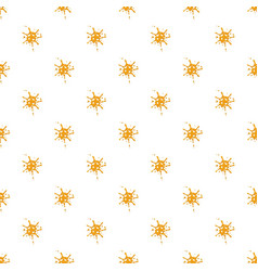 small spot of honey pattern vector image vector image