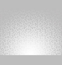 Abstract white and gray gradient color geometric vector