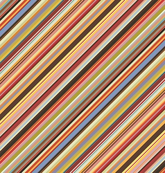 Colored diagonal stripes seamless pattern vector
