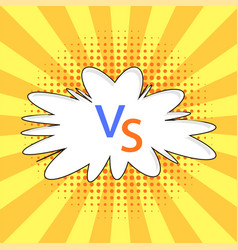 concept of confrontation together final fighting vector image