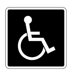 for the disabled vector image