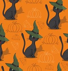 Halloween pattern design vector