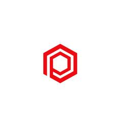 letter p icon alphabet symbol vector image