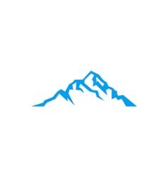 Mountain sign logo vector