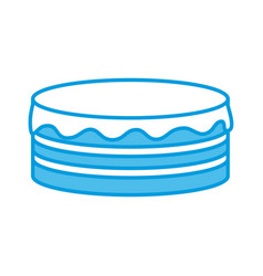 pancakes delicious food vector image
