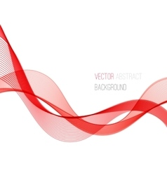 Smooth wave stream line abstract header layout vector