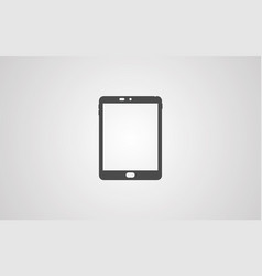 tablet icon sign symbol vector image
