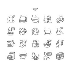 Tableware well-crafted pixel perfect thin vector