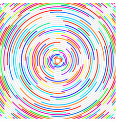 abstract background with radial lines vector image