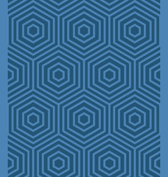 blue geometric pattern vector image