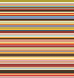 colored horizontal stripes seamless pattern vector image