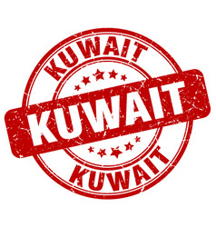 Kuwait stamp vector