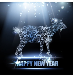 New year symbol vector image