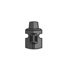 rebuildable drip and tank vape atomizers types vector image