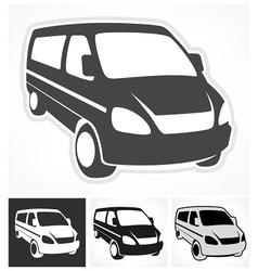 Set of vans vector
