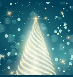 Sparkle christmas background vector
