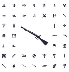 Winchester icon vector