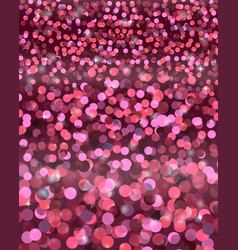 festive abstract background of diversified circles vector image