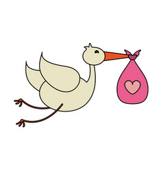 bird toy vector image