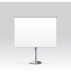 Blank stand vector
