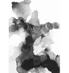 Abstract watercolor art hand painted vector