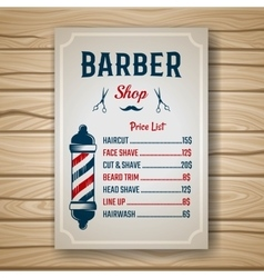 Barber colored price vector