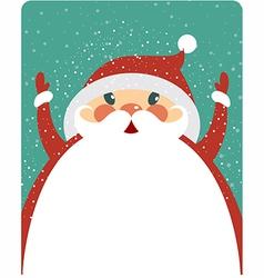 Big Santa vector image