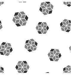 Blockchain technology icon seamless pattern vector