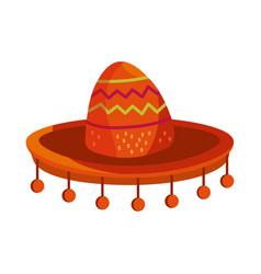 cinco de mayo traditional hat vector image