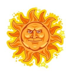 Heat sun vector