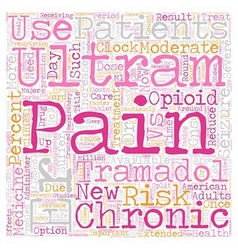 New medicine available for round the clock pain vector
