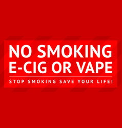 sticker no smoking ready for print vector image
