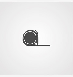 tape measure icon sign symbol vector image