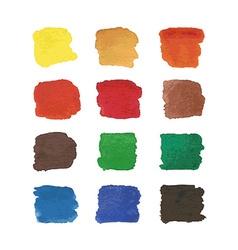 Watercolors spots vector image