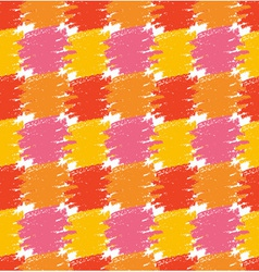 Seamless Pattern Grunge Colorful Stains vector image vector image