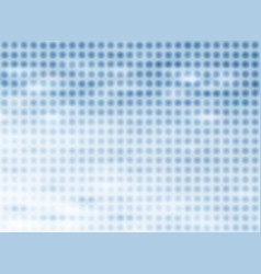 abstract halftone blue background with blurred vector image