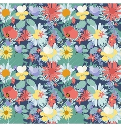 Abstract Natural Spring Seamless Pattern vector image
