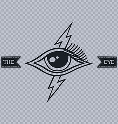 all seeing eye of horus vector image