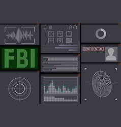 Pc software for the fbi vector