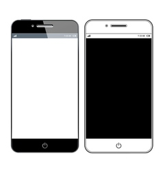 Realistic modern smartphone vector image vector image