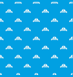 reconstruction pattern seamless blue vector image