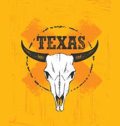 texas pride rough grunge vector image