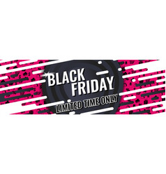 black friday special offer vector image