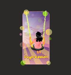 Impression vector
