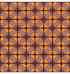 Retro textile pattern vector