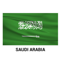Saudia arabia flags design vector