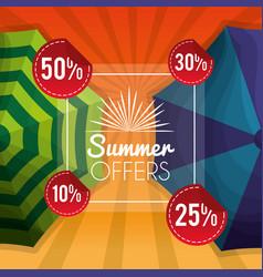 season summer image vector image
