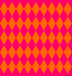 tile orange and pink pattern vector image