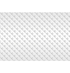 Abstract light grey mesh paper background vector