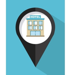 Hotel sign vector